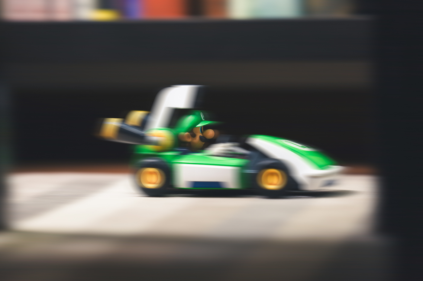 The charm of speed in Mario Kart